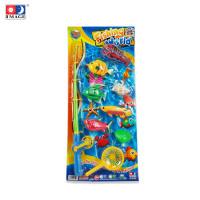 IMAGE TOYS mainan pancingan ikan 9 Pcs Fishing Game [BC]