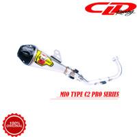 Knalpot Racing Motor CLD Racing Mio Sporty fino Nouvo C2 Pro Series