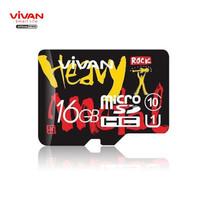 Vivan V16U10 16GB Class 10 MicroSD TF Card Speed Up To 100MB/s GARANSI