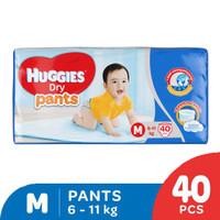 Huggies Dry Pants Popok Celana M 40