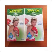 appeton lysine syirup 120ml vitamin anak