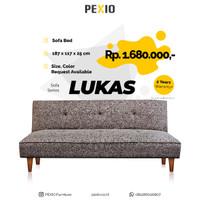Sofa Bed Lipat LUKAS - Minimalist dan Nyaman PEX FURNITURE