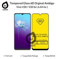 Tempered Glass 6D 9D Vivo V20 / V20 Se Full Cover Ambigo