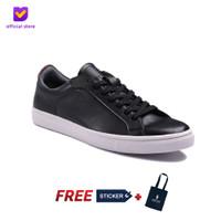 Sepatu Pria Sneakers Footstep Footwear - Beta Black