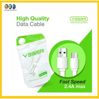 Kabel Data VEGER VG-30 2.4 A Micro USB For Android 30cm