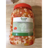Come Food Topping Jelly Rainbow 3,3kg IMPORT Taiwan