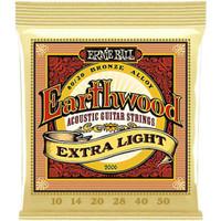 Senar Gitar Akustik Ernie Ball 2006 Earthwood Extra Light 010 - 050