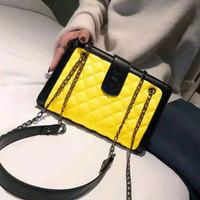 TAS LEVEL RUBY SERIES FASHION wanita batam impor murah selempang - Lime