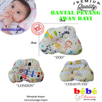 Bantal kepala Bayi AWAN Anti Peang KARET Baby Pillow Peyang