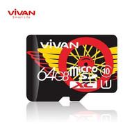 Vivan V64U10 64GB Class 10 MicroSD TF Card Speed Up To 100MB/s GARANSI