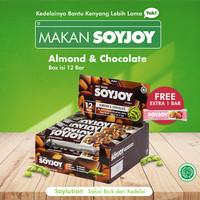 SOYJOY ALMOND & CHOCOLATE 1 Box Isi 12