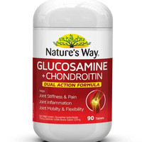 Nature's Way Glucosamine Chondroitin Dual Action Made In Australia