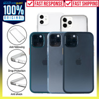 Case iPhone 12 / Pro / Max / Mini OCTAGUARD Dual Frosted Clear Casing