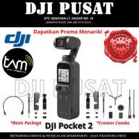 DJI Pocket 2 Osmo Pocket 2 Basic & Creator Combo Original Garansi TAM - Basic Kit