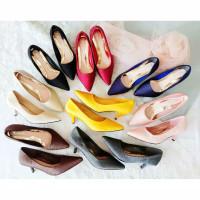 Olavis 112-9a sepatu hak tinggi wanita pansus korea wanita 4CM