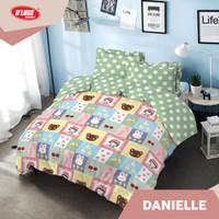 Kintakun DLuxe Bed Cover Set Uk. 180x200 Motif - Danielle