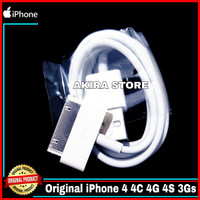 Kabel Data iPhone 4/4S/4G/3Gs iPad 1 2 3 iPod iTouch ORIGINAL 100%
