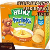 Heinz Farley's Biskuit Bayi Rasa Jeruk