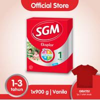 SGM Eksplor 1 Plus Susu Pertumbuhan 1-3 Thn Vanila 900g