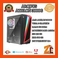 Pc Gaming/Editing Amd Athlon 3000G VEGA3 8GB 120GB 500GB - 8 gb