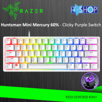 Razer Keyboard Huntsman Mini Mercury - Purple