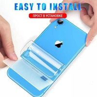IPHONE SE 2020 CLEAR BACK HYDROGEL ANTI GORES BELAKANG