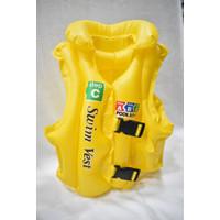 Jaket | Rompi | Swim Vest ABC Pelampung Anak Size M Ban Renang Kuning