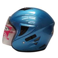 Helm Half Face Foz Voltus Solid Ice Blue L