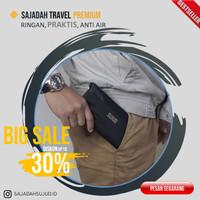 Sajadah Praktis Travel Lipat Simple Tipis Sejadah Saku Portable HITAM