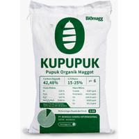 Pupuk Organik Padat Kompos Kupupuk Biomagg Cocok Sayuran, TanamanHias