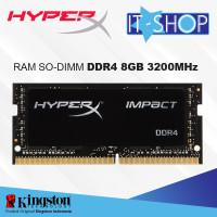 Kingston HyperX Impact DDR4 SODIMM 8GB - 3200