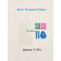 Iphone 11 PRO MAX BACK TEMPERED GLASS Premium Magic Glass