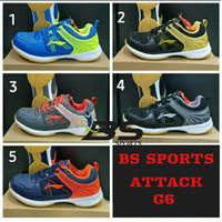 SEPATU BADMINTON SEPATU LINING ATTACK G6 ORIGINAL 100%!!