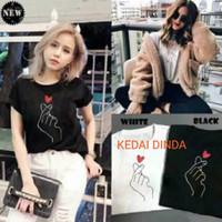 Baju Wanita Kaos Wanita Cewek Love Sarange Love In The Air KPOP BTS