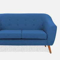 scandinavian sofa retro