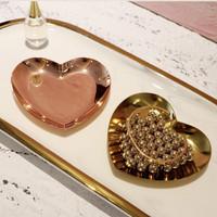 Nordic Tray Perhiasan/Tempat Perhiasan/Nampan Perhiasan-Rose Gold