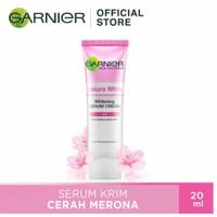 Garnier skin white day cream sakura 20ml serum pencerah wajah