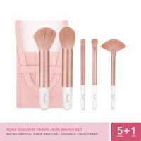 Rose Golden Travel Size Brush Set