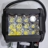 LAMPU LED CREE 12 MATA 36 W LAMPU TEMBAK SOROT WORKLIGHT MOBIL OFFROAD
