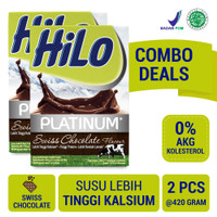 Twin Pack: HiLo Platinum Swiss Chocolate (12 Sch)