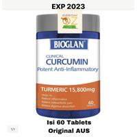 Bioglan Clinical Curcumin 15800mg Tumeric 60 Tablet