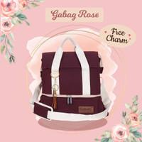 Gabag Rose - Caramel Cooler Bag Tas Asi Double Sling - Free 2 ice gel
