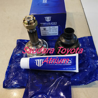 Cv joint as roda luar drive shaft luar toyota yaris 2006-2013