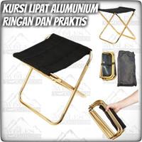 Kursi Lipat Alumunium Portable Praktis dan Ringan Mudah Di bawa
