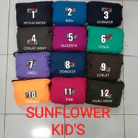 Jas Hujan Sunflower Size S | Kids | Raincoat Ukuran Anak