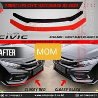 Otoproject Front Lips List Bibir Bumper Depan Civic Turbo Hatchback