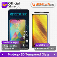 Tempered Glass Xiaomi Poco X3 NFC Protego 3D Full Cover
