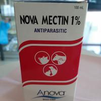 Novamectin 100 ml - obat anti kutu dan endoparasit hewan