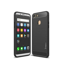 Infinix Hot 8 Case Rugged Armor Softcase Casing
