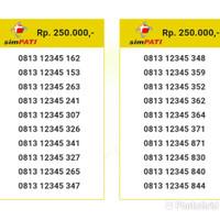 Perdana Nomor Cantik Simpati Seri Urut 12345 0813 12345 435 it8